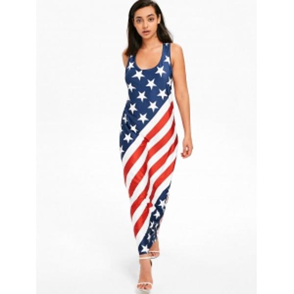 dcfb80252b9b ... American Flag Racerback Maxi Dress. Previous Product · Next Product.  🔍. Color : ...