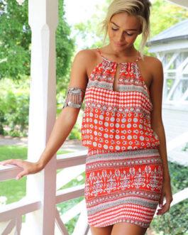Boho Halter Summer Dresses