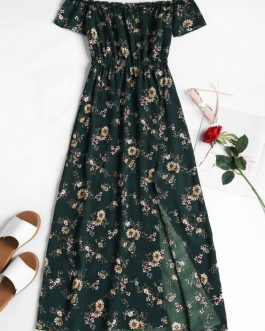 Off The Shoulder Floral Sundress Dresses