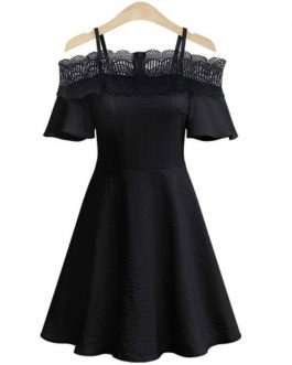 Pleated Women's Skater Dresses