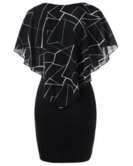 Ruffles Mini Tight Fitted Dresses