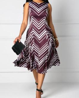 Sleeveless Round Neck Dresses