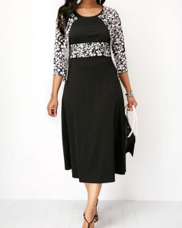 Top and High Waist Dresses