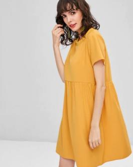Casual Shift Mini Dress