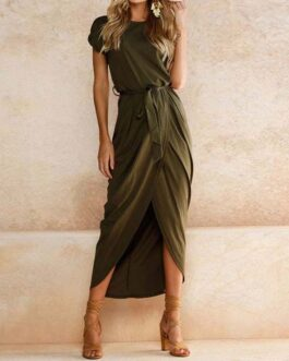 Elegant Plus Size Long Party Dress