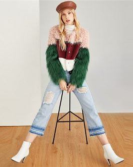 Faux Fur Casual Winter Modern Lady Coats