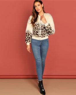 Winter Bomber Casual Women Faux Fur Coat Outerwear