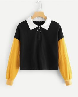 Autumn Minimalist Fashion Women Sweatshirts