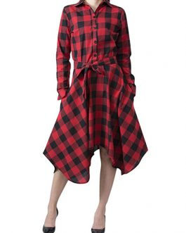 Maxi Shirt Long Sleeve Fall Dress