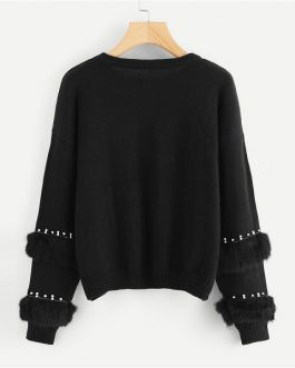 Pullovers Jumper 2018 Autumn Casual Campus Women Sweaters