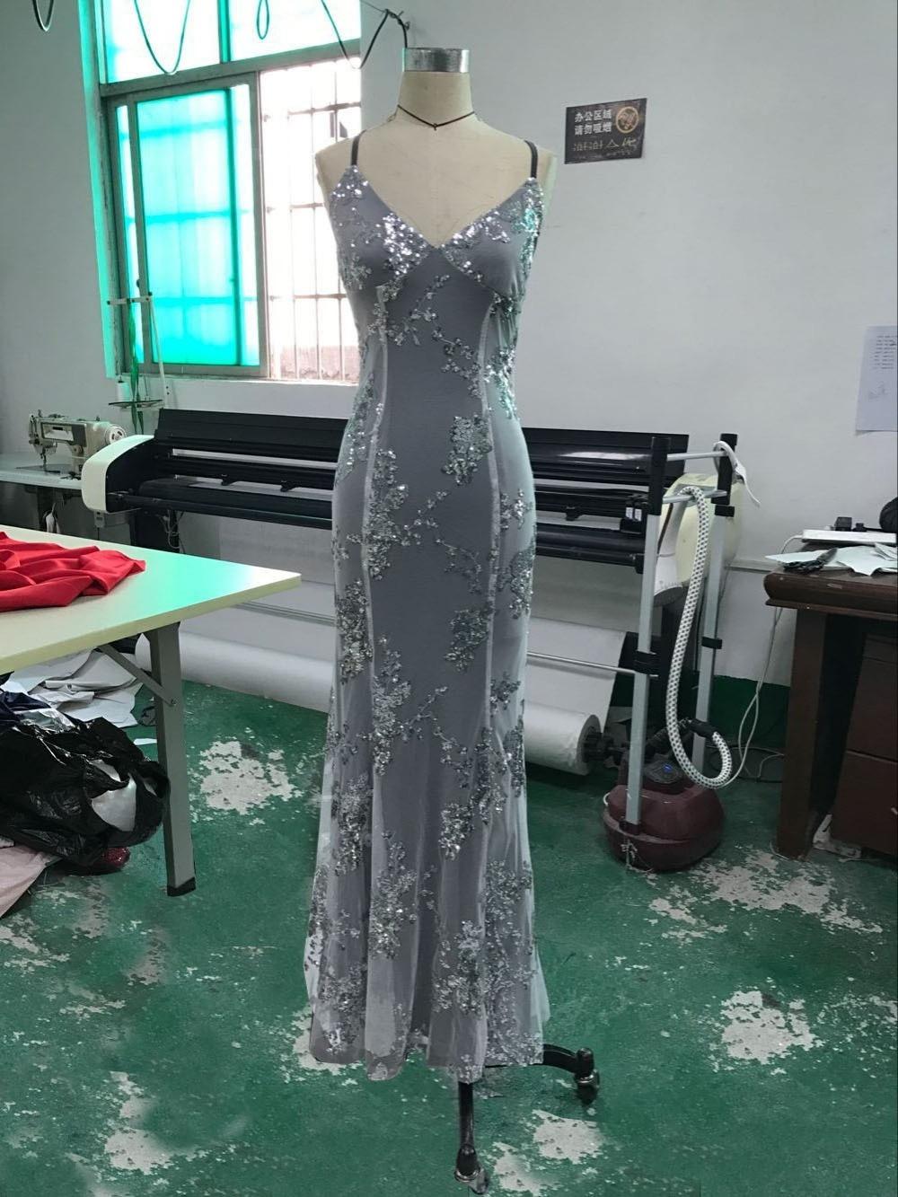 Sexy Party Dress Sleeveless Straps Glitter Sequins Backless Long Dress Women Maxi Dress 13