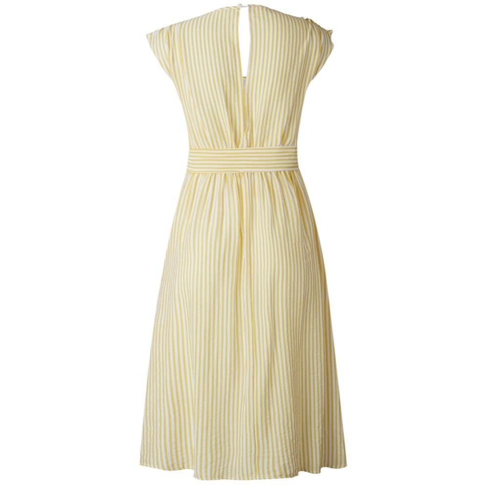 Sexy Striped Spring Elegant Casual Dress 16