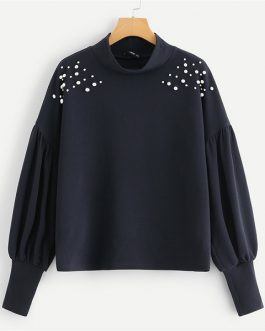 Solid Sweatshirt 2018 Autumn Casual Campus Women Sweatshirts