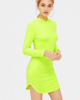 Spring Casual Bodycon Dress Women Party Dress