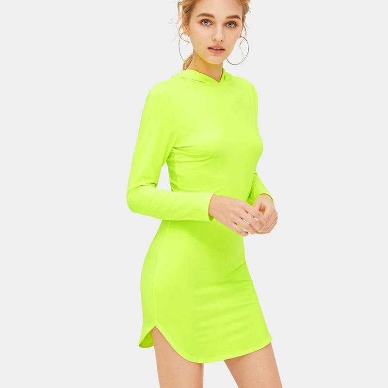 Spring Casual Bodycon Dress Women Party Dress 3
