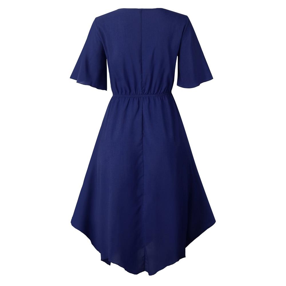Spring Midi Swing Shirt Casual Fashion Dresses 15