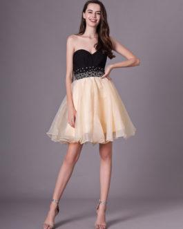 Sweetheart Neck Short Fashion Cocktail Dress