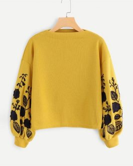 Autumn Casual Women Pullovers Sweatshirts