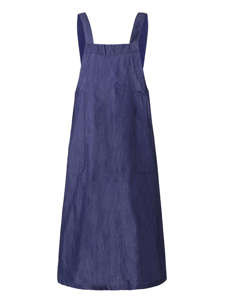 Cross Cotton Vintage Apron Dress1