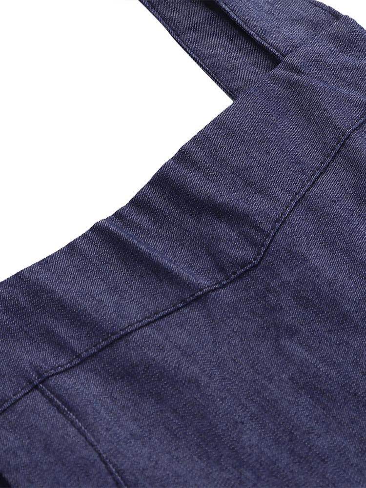 Cross Cotton Vintage Apron Dress4