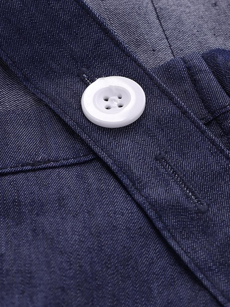 Cross Cotton Vintage Apron Dress5