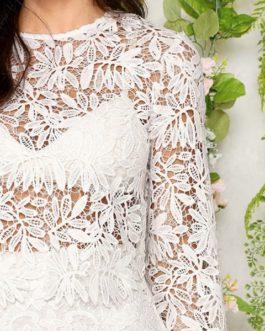 Lace Skinny Women Spring Twopiece