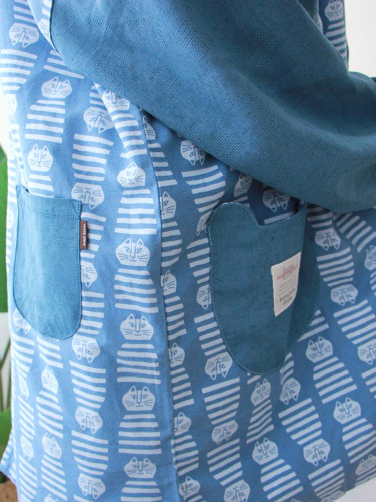 Long Sleeve Apron Vintage Dress6