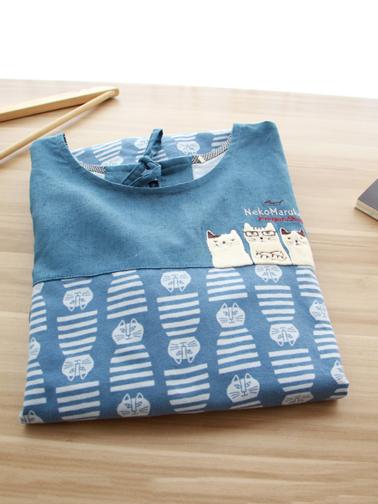 Long Sleeve Apron Vintage Dress9