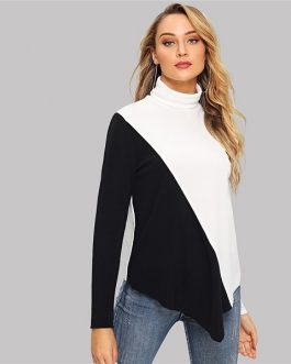 Pullover Autumn Workwear Women Sweatshirts