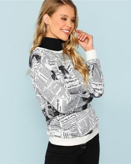 Pullovers Women Autumn Sweatshirt