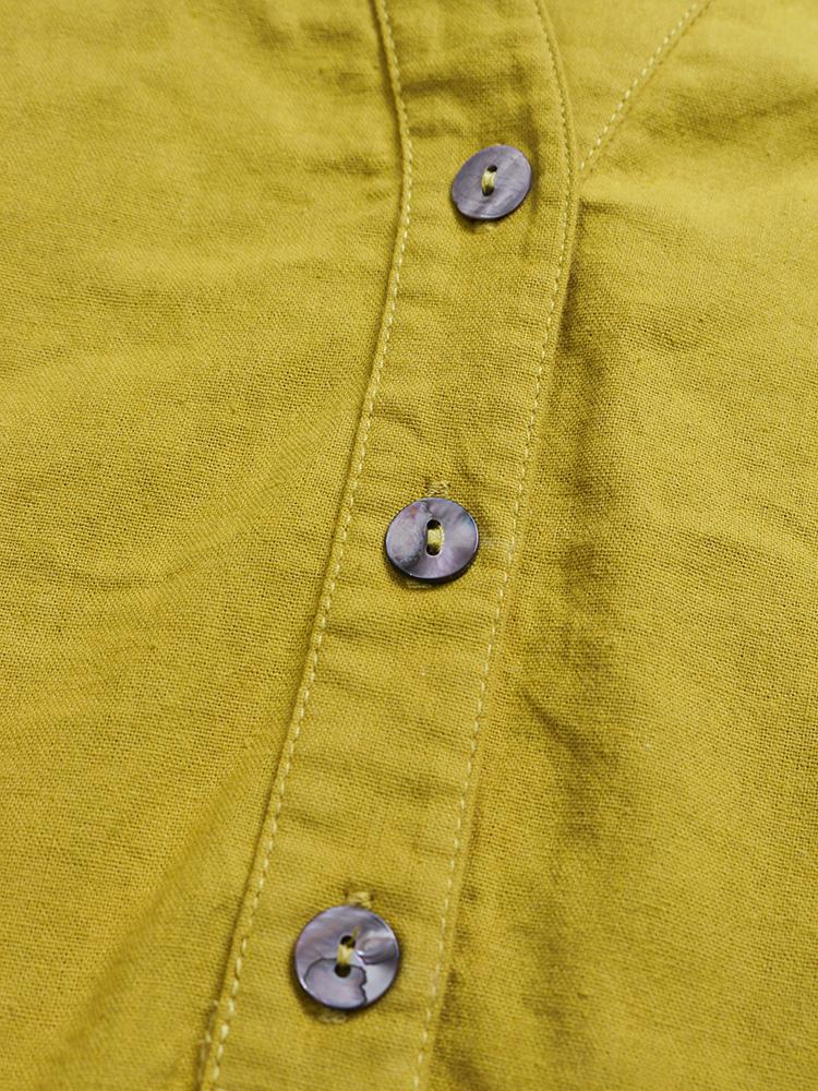 Pure Color Cotton Vintage Blouse6