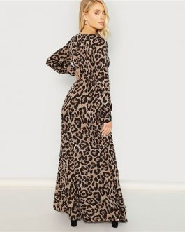 Autumn Streetwear Women Maxi Dresses