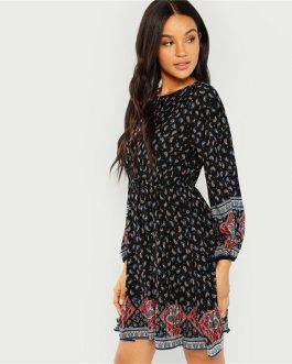 Autumn Women Holiday Dresses