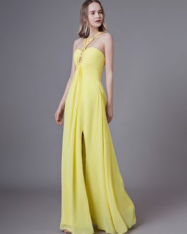 Daffodil Prom Long Sexy Floor Length Formal Party Dress