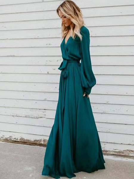 f4a34140be ... Long Sleeve Maxi Dress V Neck Tie Waist Split Party Dress. Sale!  Previous Product · Next Product. 🔍. $66.00 $33.10