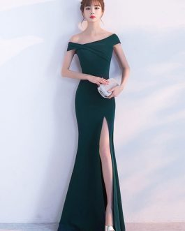 Mermaid Homecoming Long Evening Occasion Dresses