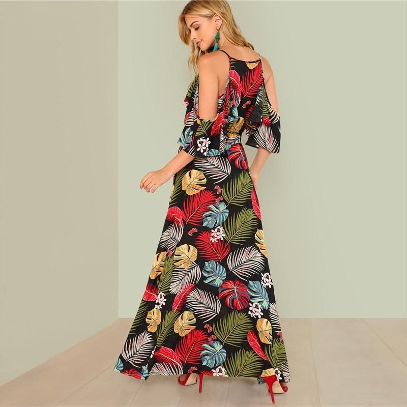 f900bce5ee ... Cold Shoulder; Dresses Length : Maxi; Hem Shaped : Slit; Occasion :  Beach; SKU : TDM01527