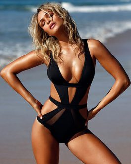 One Piece Swimsuit Monokini Sexy Cut Out Bathing Suit For Women