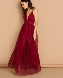 Plain Sexy Night Out Modern Lady Maxi Party Dresses