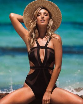 Sexy Monokini Swimsuit Cut Out One Piece Bathing Suit For Women
