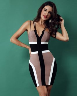 Women Bandage Party Club Sexy Bodycon Dress