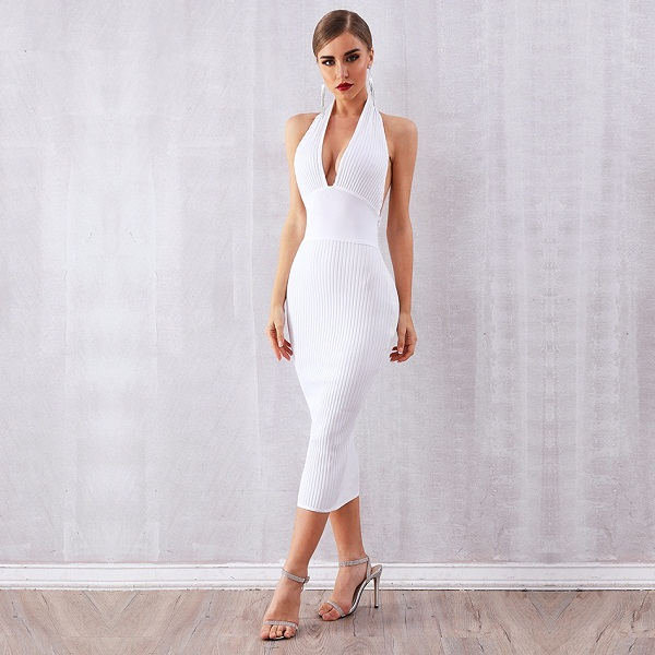 b82bfe76a22 Women Bandage Vestidos Sexy Bodycon Club Dresses - Power Day Sale