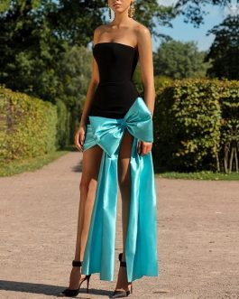 Women Bodycon Bandage Celebrity Evening Party Dress