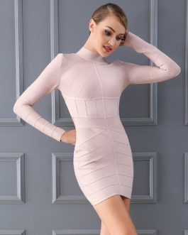Women Bodycon Bandage Evening Party Dress