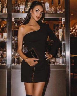 Women Celebrity Sexy Mini Bodycon Club Dress
