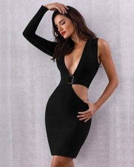 Women Vestidos Verano Sexy Bodycon Evening Party Club Dress