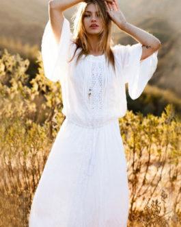 Boho Dress Plus Size Long Sleeve Maxi Dress Women Beach Dress