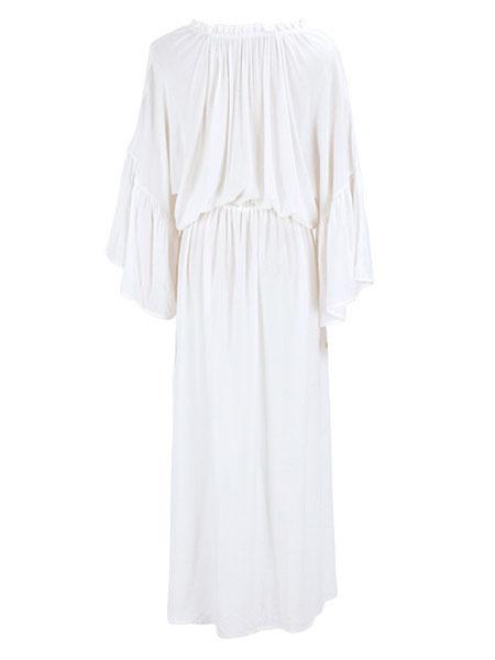 06317a0151d Roseglennorthdakota / Try These Plus Size Boho Maxi Dresses With Sleeves