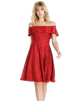 New Women Sexy lace Dress A-Line Short Club Party Dress