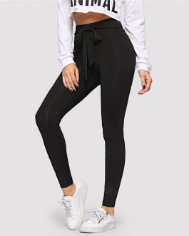 Women Active Wear Leisure Casual Workout Leggings